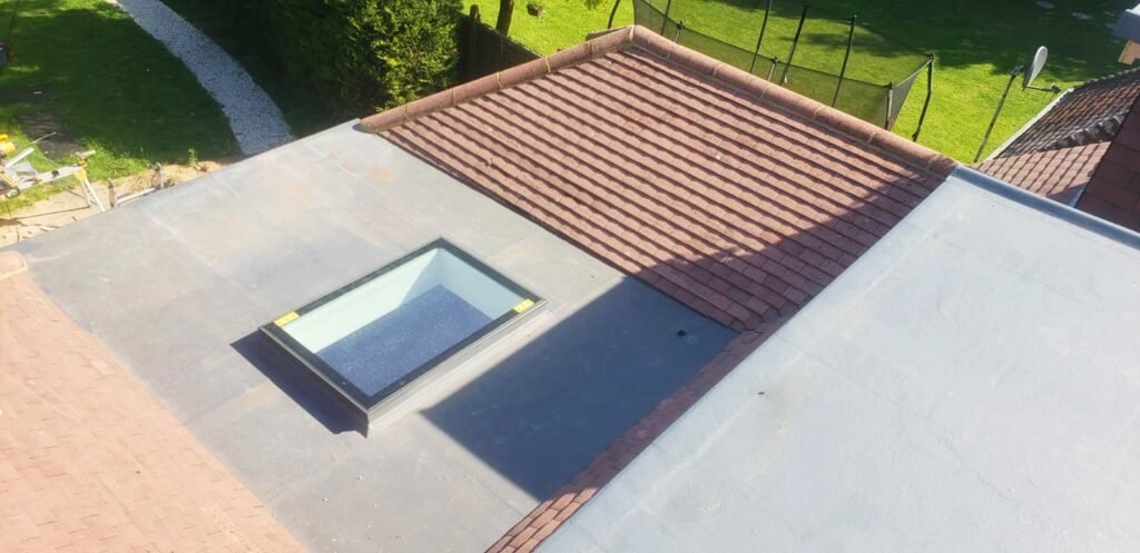 skylight on house extension