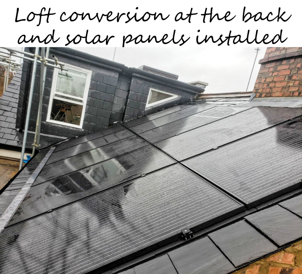 Solar panels and loft conversion in St. Albans